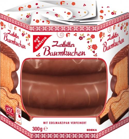 Baumkuchen, Zartbitter, Januar 2018