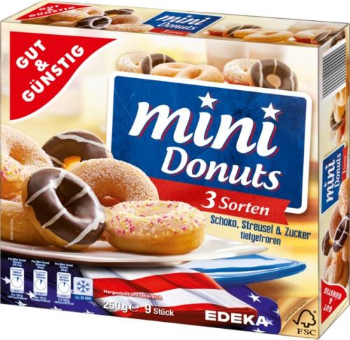 Mini-Donuts, Dezember 2017