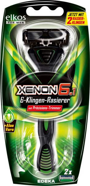 Xenon 6 Rasierer, Dezember 2017
