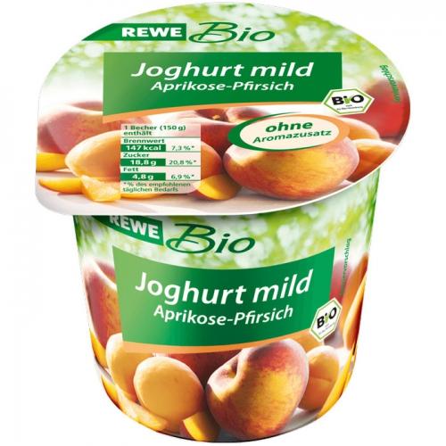 Joghurt mild Aprikose-Pfirsich, Dezember 2017