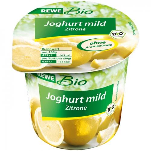 Joghurt mild Zitrone, Januar 2018