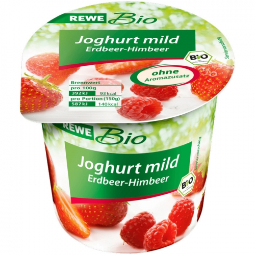 Joghurt mild Erdbeer-Himbeer, Dezember 2017