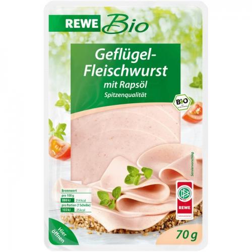 Geflügel-Fleischwurst, Februar 2017