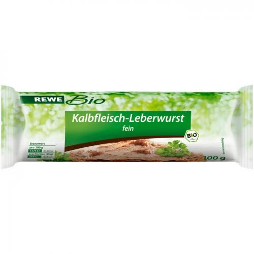 Kalbfleisch-Leberwurst, Februar 2017