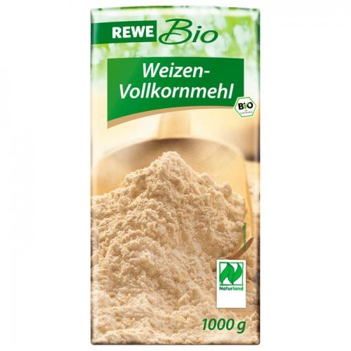 Weizen-Vollkornmehl, April 2017