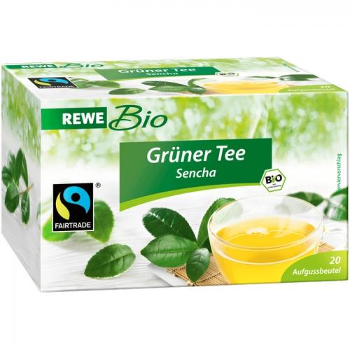 Grüner Tee Sencha, Februar 2017