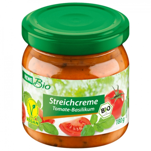 Streichcreme Tomate-Basilikum, Februar 2017