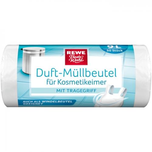 Duft-Müllbeutel für Kosmetikeimer, 9 L, Dezember 2017