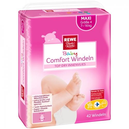 Baby-Comfort-Windeln Maxi, November 2017