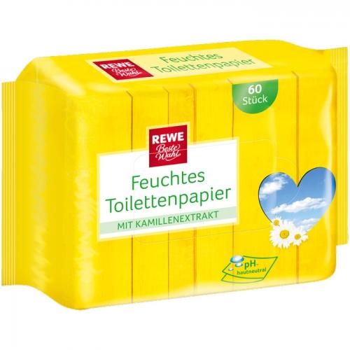 Feuchtes Toilettenpapier Kamille, Nachfüllpackung, M�rz 2017