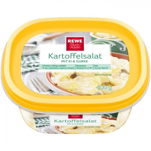 Kartoffelsalat mit Ei & Gurke, M�rz 2017
