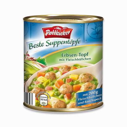Beste Suppentöpfe Fleischbällchen-Topf, Februar 2012