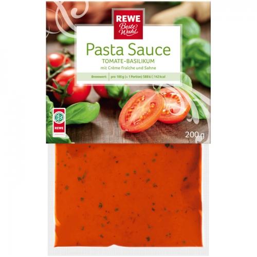 Pastasauce Tomate-Basilikum, M�rz 2017