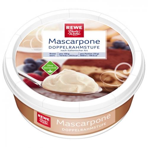 Mascarpone, Mai 2017
