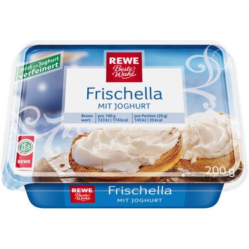 """Frischkäse """"Frischella"""" mit Joghurt, Mai 2017"""