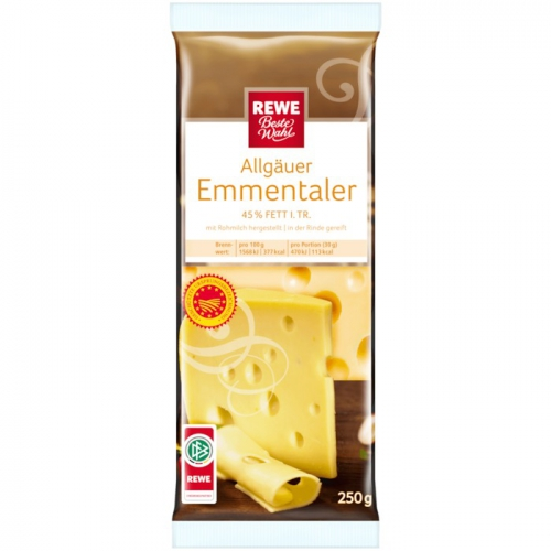 Allgäuer Emmentaler, Stück, Oktober 2017