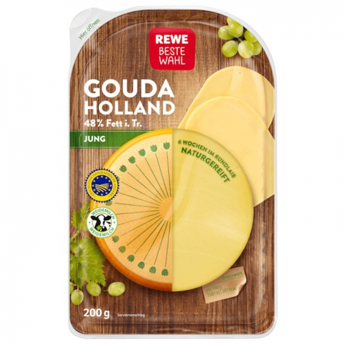 Gouda Holland jung, Scheiben, April 2018