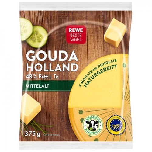 Gouda Holland mittelalt, Stück, Januar 2018