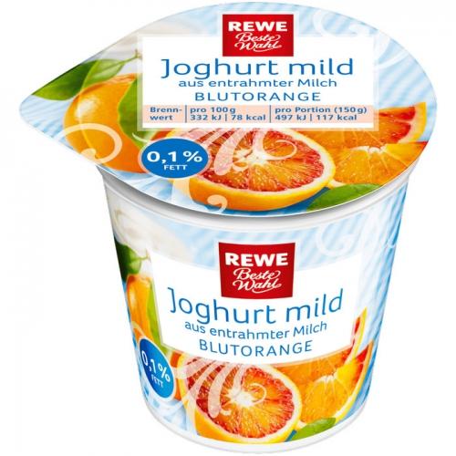 Joghurt mild Blutorange, Dezember 2017