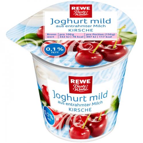 Joghurt mild Kirsche, Dezember 2017