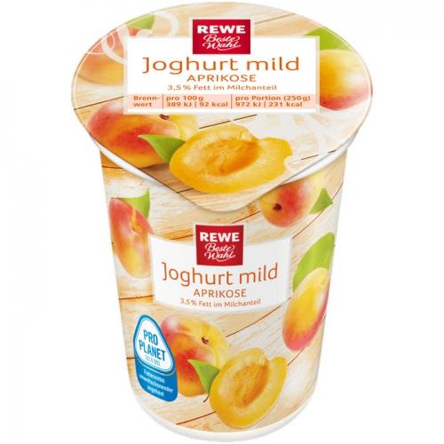 Joghurt mild Aprikose, Dezember 2017