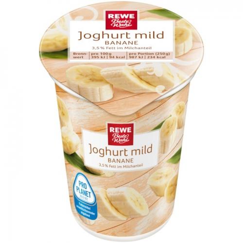 Joghurt mild Banane, Dezember 2017