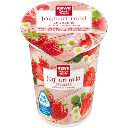 Joghurt mild Erdbeere, Dezember 2017