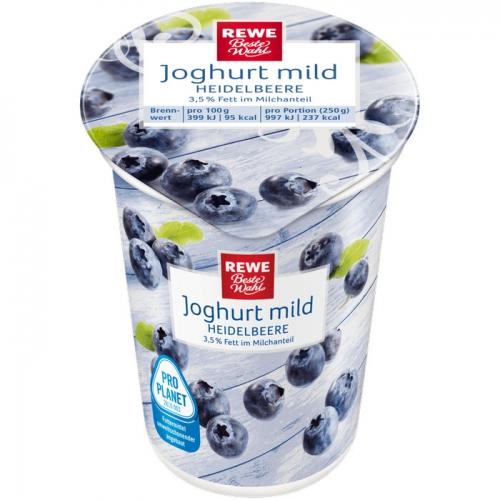 Joghurt mild Heidelbeere, Dezember 2017