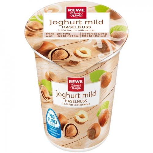 Joghurt mild Haselnuss, Dezember 2017
