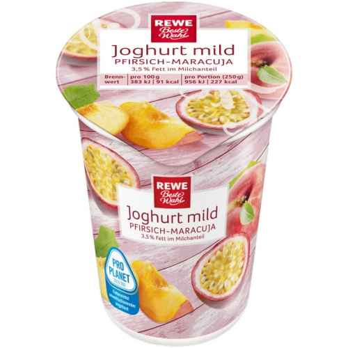 Joghurt mild Pfirsich-Maracuja, Dezember 2017