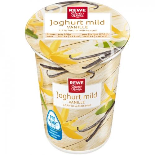 Joghurt mild Vanille, Dezember 2017