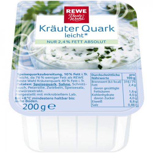 Kräuterquark leicht, November 2017