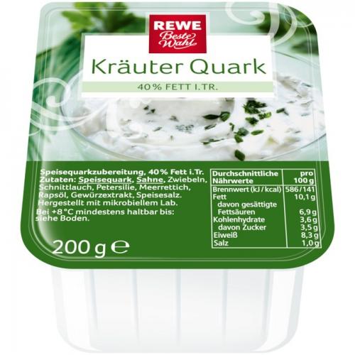 Kräuterquark, November 2017