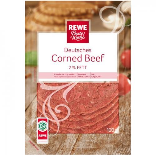 Deutsches Corned Beef, Januar 2018