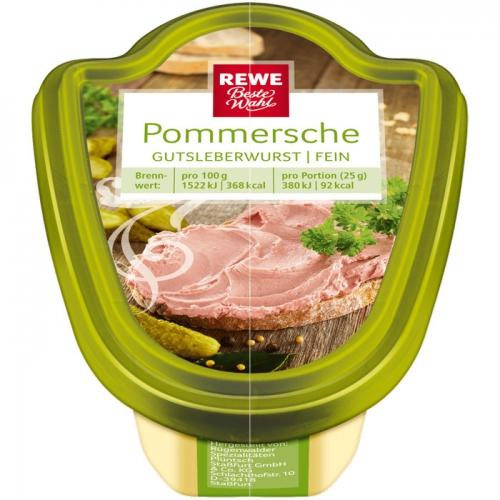 Pommersche Gutsleberwurst fein, M�rz 2017