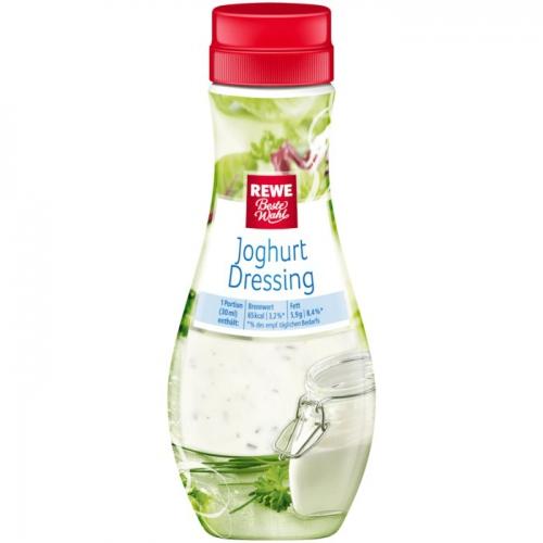 Joghurt-Dressing, Dezember 2017