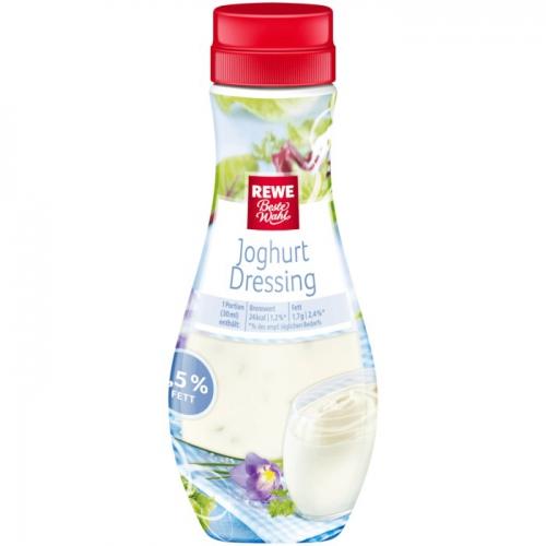 Joghurt-Dressing, fettreduziert, Dezember 2017
