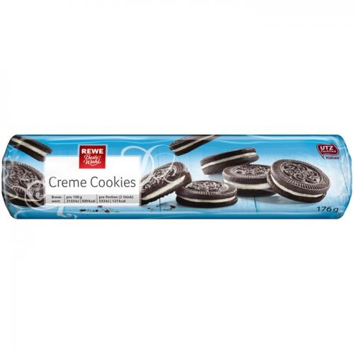 Creme Cookies, April 2017