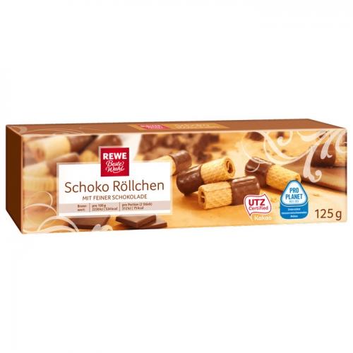 Schoko-Röllchen, M�rz 2017