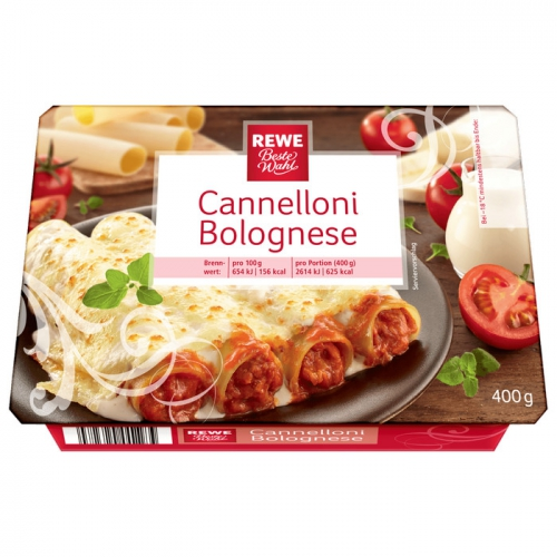 Cannelloni Bolognese, M�rz 2017
