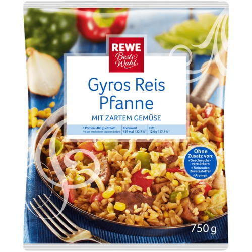 Gyros-Reispfanne, M�rz 2017