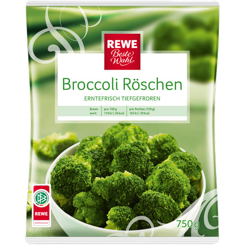 Broccoli-Röschen, November 2016