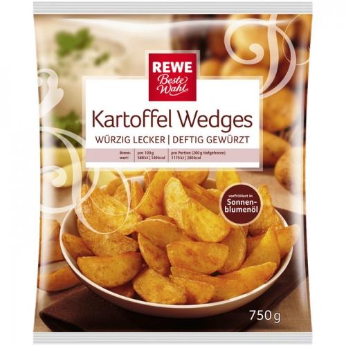 Kartoffel-Wedges, M�rz 2017