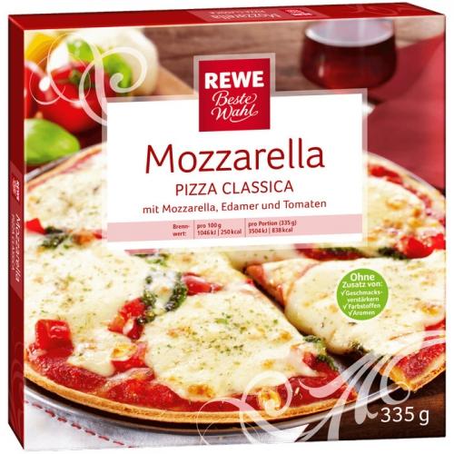Pizza Classica Mozzarella, M�rz 2017