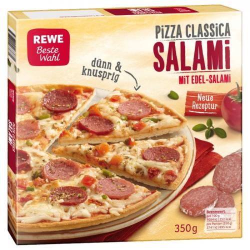 Pizza Classica Salami, Mai 2017