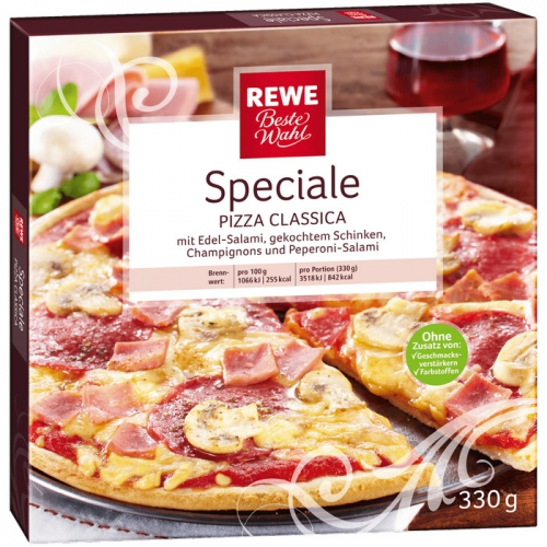Pizza Classica Speciale, M�rz 2017