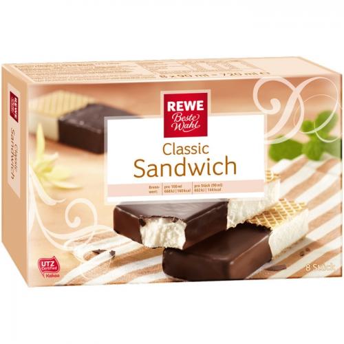 Classic Sandwich - Eisschnitten, M�rz 2017