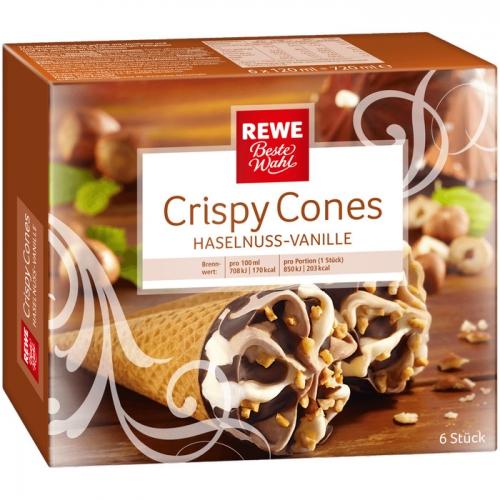 Crispy Cones - Haselnuss-Vanilleeis, M�rz 2017