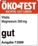 Magnesium Tabletten, Februar 2012