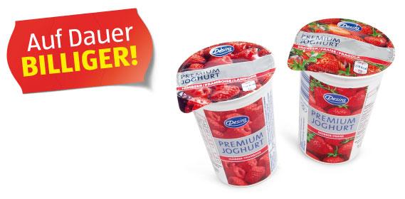 Premium-Fruchtjoghurt 3,8% Fett, Mai 2012